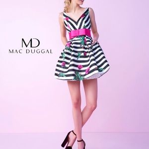The cutest! Mac Duggal cocktail dress